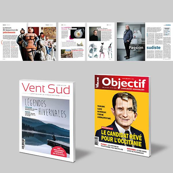 Presse, magazines
