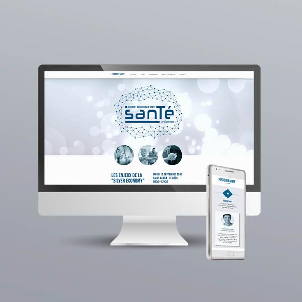 Site internet du sommet santé