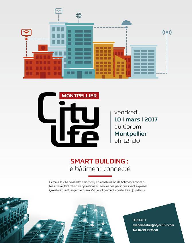 Affiche Montpellier City Life