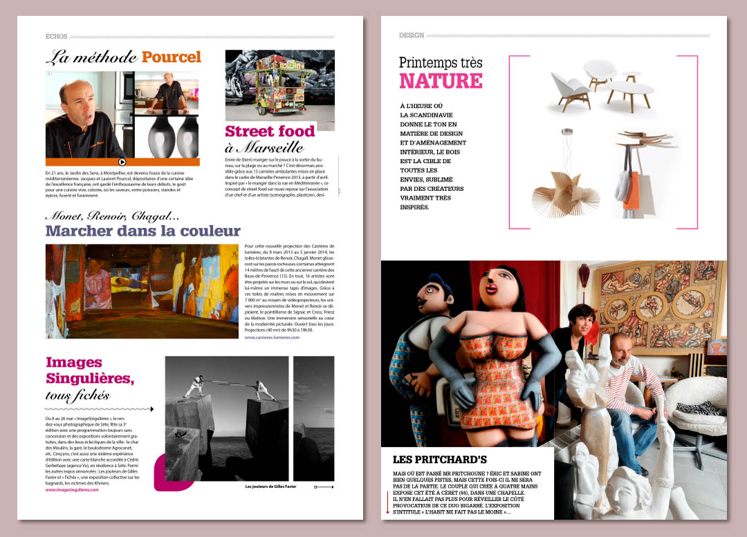 Maquette digital publishing