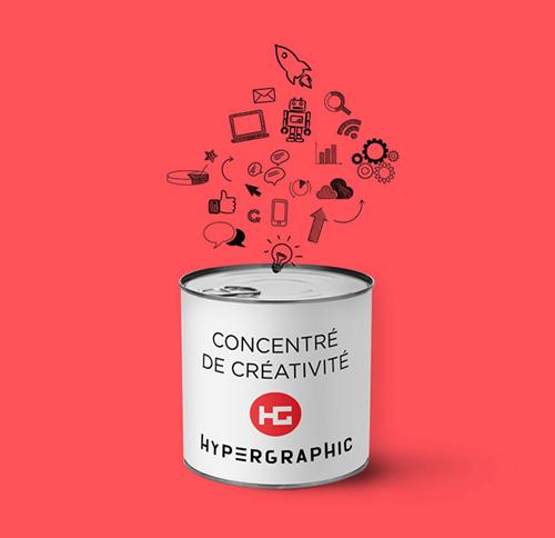 Hypergraphic, concentré de créativité