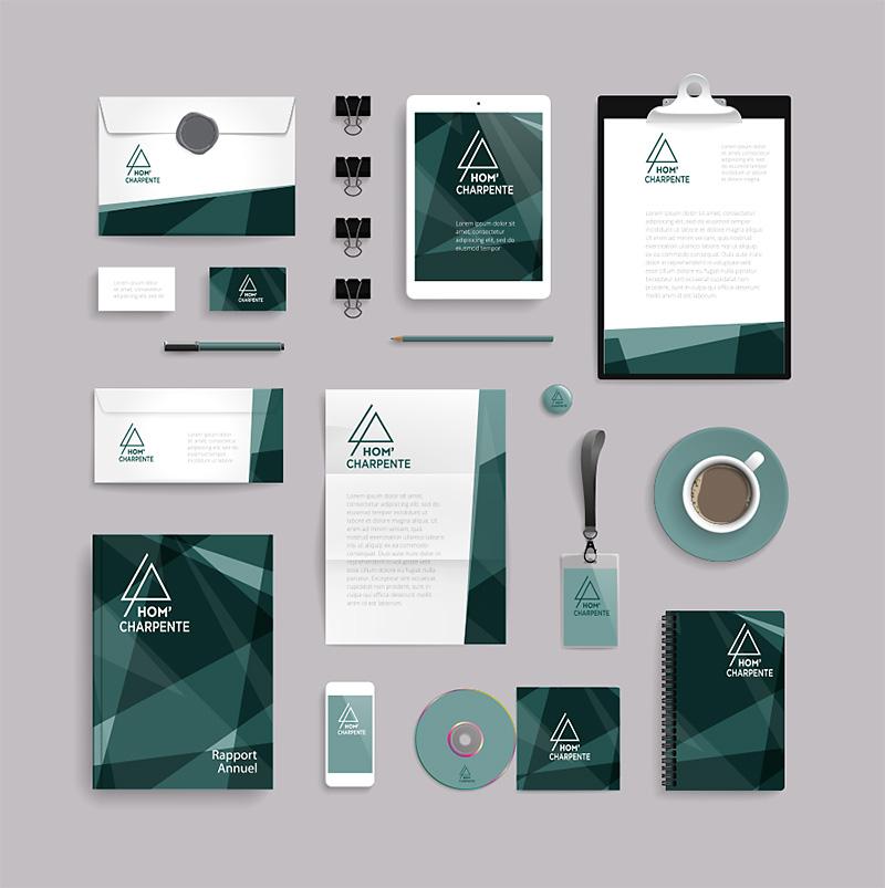 Logo, charte graphique, identité visuelle pour vous démarquer
