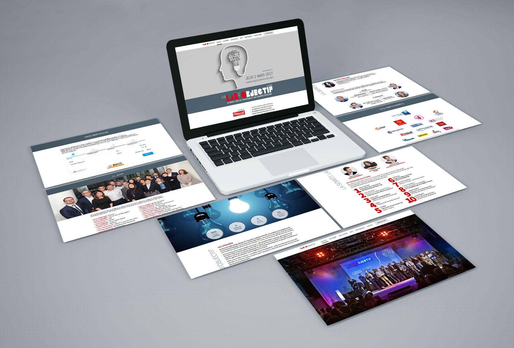 Site web du Lab'Objectif