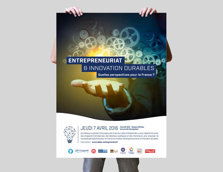 Affiche du Labex Entreprendre