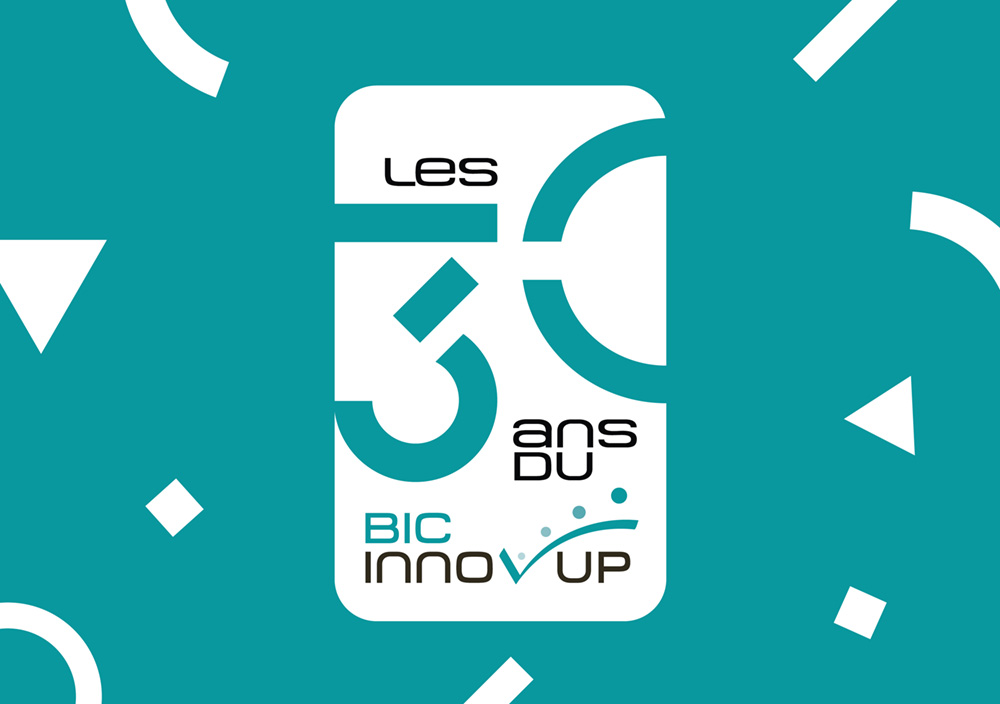 logo des 30 ans du Bic Innov'up