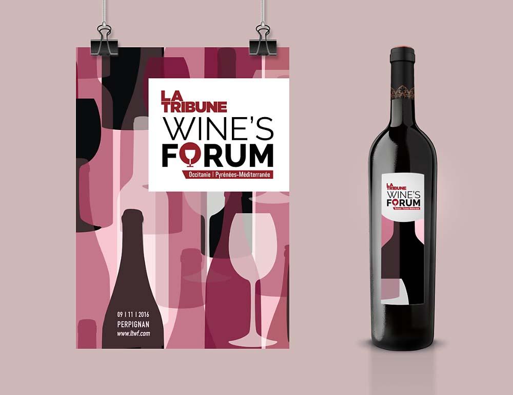 Affiche Wine's Forum