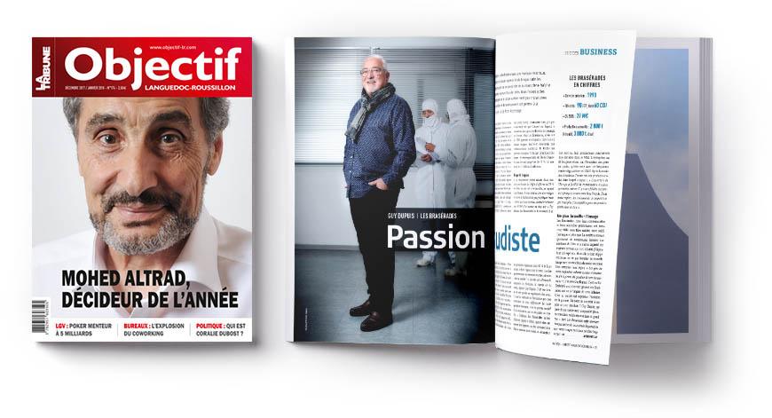 Magazine Objectif Languedoc-Roussillon